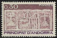 Andorra (French POs) SG F338 1983 Definitive 30c mounted mint